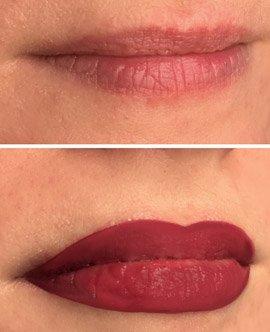 Lips Tattoo Training